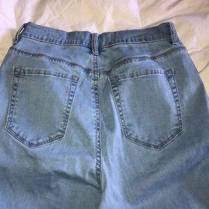 PacSun Jeans - Super high rise distressed Pacsun jeans
